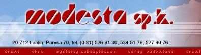 MODESTA Sp. Komandytowa